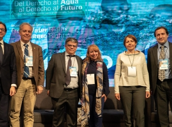 """Seminario Internacional """"Del derecho al agua al derecho al futuro"""""""